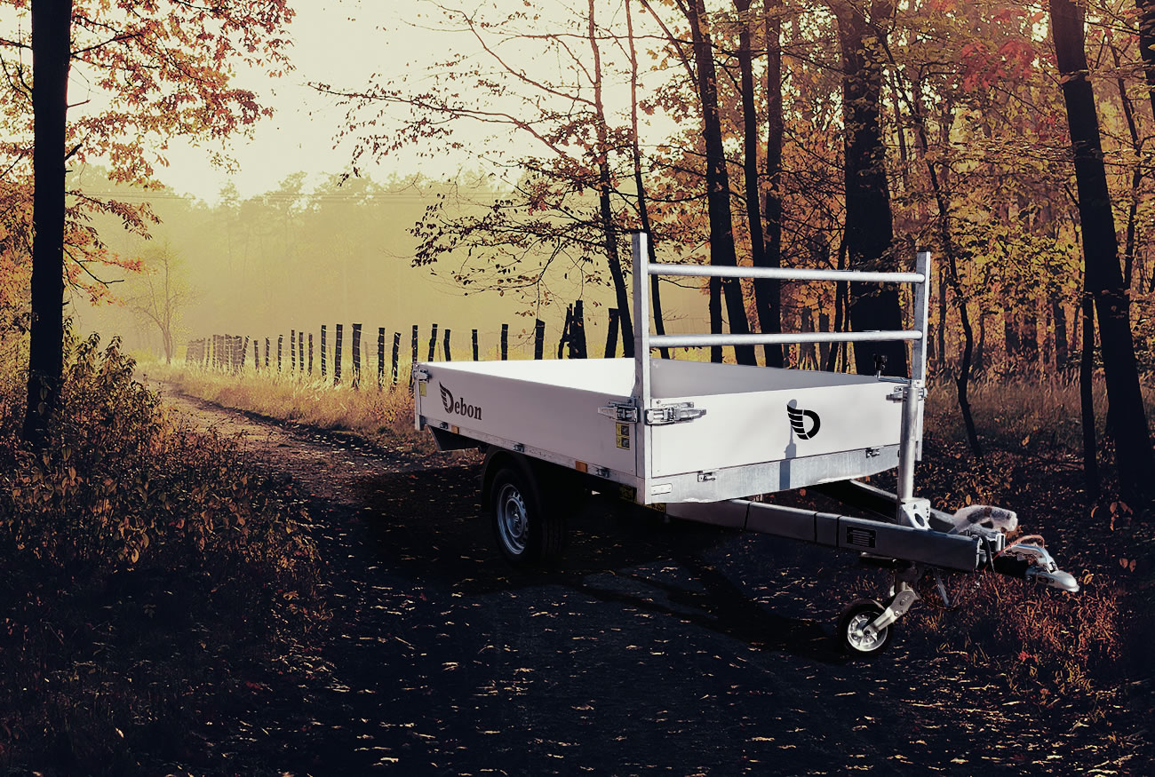 PWO 1500 LUX Tipper Trailer