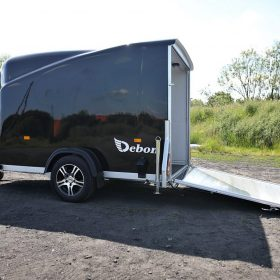 Cargo Trailer 1300, Side View, Black
