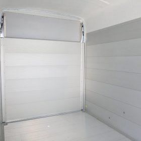 large box trailer internal view