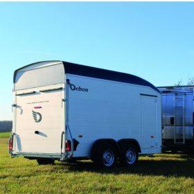 dual axle box trailer agricultural setting