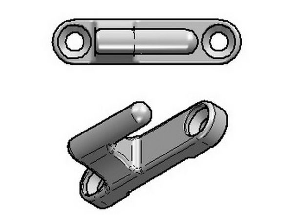Hinges for drop sides on tipping trailers