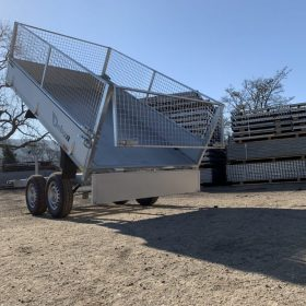 electric rear tipper trailer